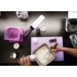 Allergén mentes ételek készítése a Violet család tagja