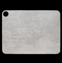 Vágódeszka 37,7x27,7 cm szürke márványos mintázattal