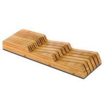 Bambusz késtartó blokk, fiókba helyezhető