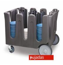 Tányér szállító kocsi, a tányér méretéhez igazítható Pujadas ADC-4