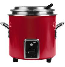 Retro 6,6 literes elektromos melegítő és melegen tartó edény piros színben |Vollrath| 7217810Retro 6,6 literes elektromos melegítő és melegen tartó edény gyöngyfehér színben |Vollrath| 7217855
