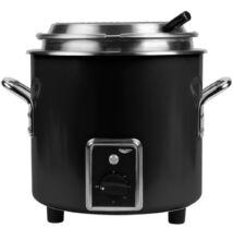 Retro 6,6 literes elektromos melegítő és melegen tartó edény fekete színben |Vollrath| 7217860