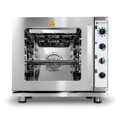 Hendi 225929 konvekciós sütő grill és gőzölő funkcióval