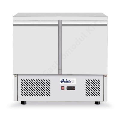 Hendi 232019 hűtött munkaasztal és kétajtós hűtőszekrény 300l Kitchen Line