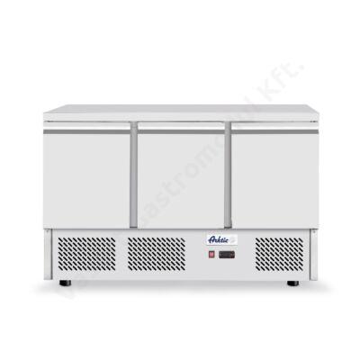 Hendi 232026 hűtött munkaasztal és háromajtós hűtőszekrény 380l Kitchen Line