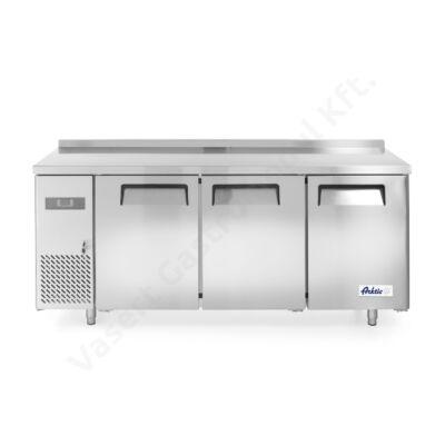 Hendi 233382 kényszerléghűtéses hűtött munkaasztal és hűtőszekrény 390l