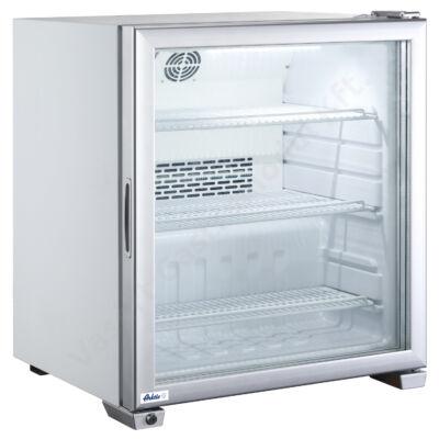Hendi Arktic 233412 -90l pultra helyezhető mélyhűtő vitrin üvegajtóval