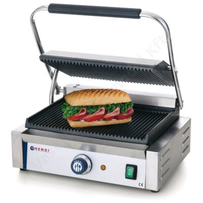Hendi kontakt grill bordázott felülettel HE 263655