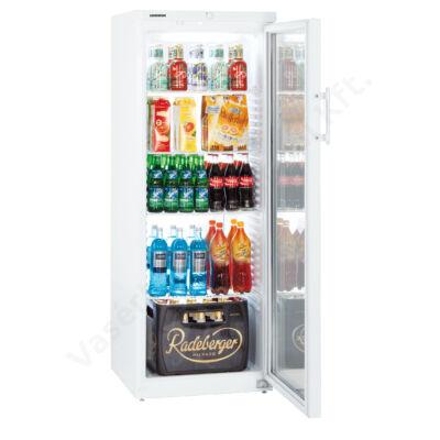 Liebherr FK 3642 típusú 348 literes üvegajtós hűtőszekrény