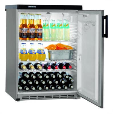 Pult alá helyezhető légkeveréses hűtőszekrény teli ajtóval 180l |Liebherr| FKVESF1805