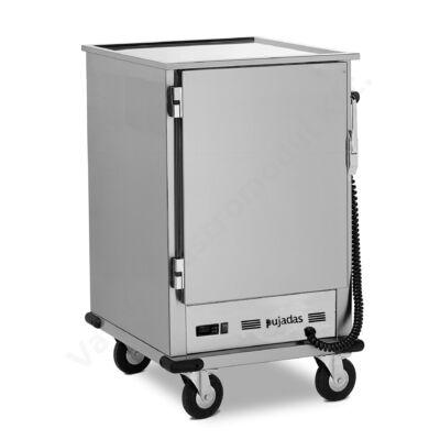 P81.000 Gördíthető melegentartó szekrény 10 db GN2/1 méretű tálcához