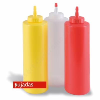 P868.004 Műanyag tubus sárga 240 ml