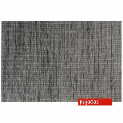 P926.052 Barna-fekete  szögletes tálaló lap