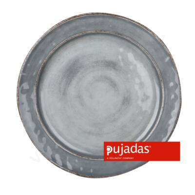 Melamin szervírozó tányér szürke Ø22cm |Pujadas| P22.834