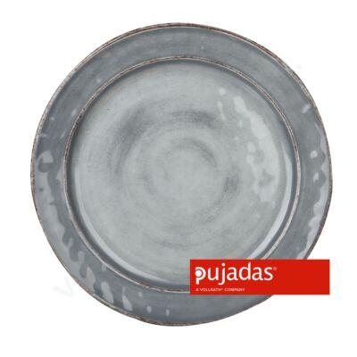Melamin szervírozó tányér szürke Ø28cm |Pujadas| P22.835