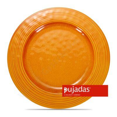 Melamin szervírozó tányér narancssárga Ø28cm |Pujadas|P22.839