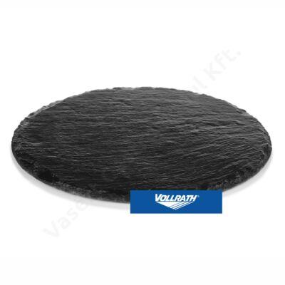 Rusztikus hatású kerek pala kínálólap 30cm|Pujadas|P 28.506