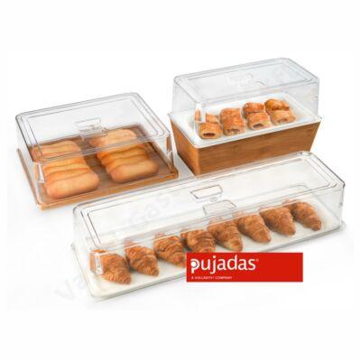 Átlátszó, polikarbonát, GN 1/2 méretű bura | Pujadas | P590.120