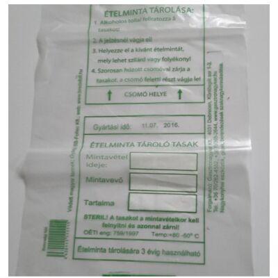 Steril ételminta tároló tasak 1000 db