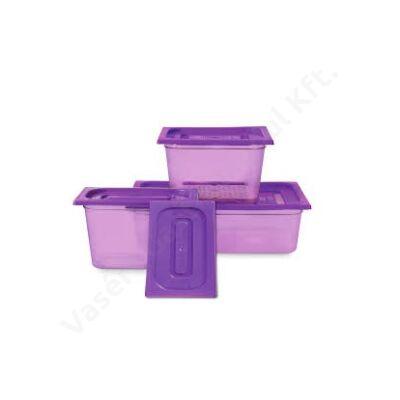 polipropilén gn fedő 1/3 lila