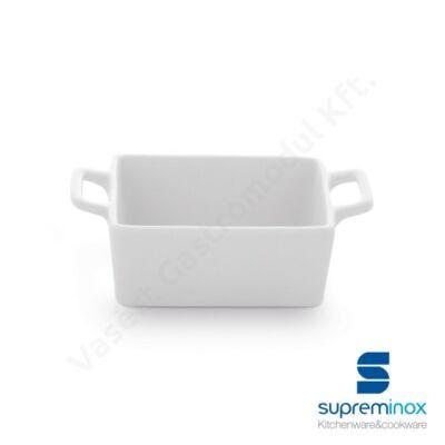 Mini porcelán tepsi alakú finger food kínálásához |Supreminox| 03854