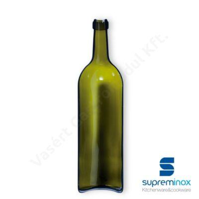 03903 Borosüveg tálaláshoz 12x46cm barna