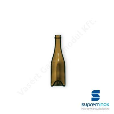 03902 Borosüveg tálaláshoz 7,5x29cm barna