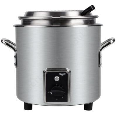 Retro 6,6 literes elektromos melegítő és melegen tartó edény ezüst színben |Vollrath| 7217810